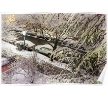 Marlborough Nightful of Snow and Light Poster