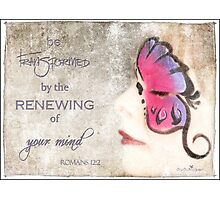 Be renewed... Photographic Print