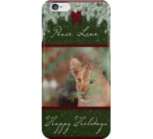 Cub's Safe Place for the Holidays iPhone Case/Skin