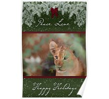 Cub's Safe Place for the Holidays Poster
