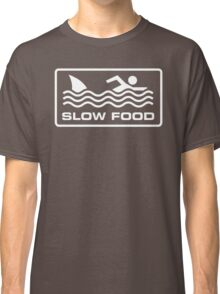 Slow food - Shark Classic T-Shirt
