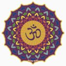 7th Chakra T-Shirt by mindofpeace