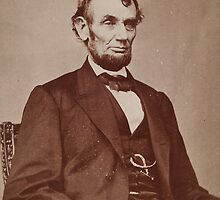 Brady photograph of Abraham Lincoln by Adam Asar