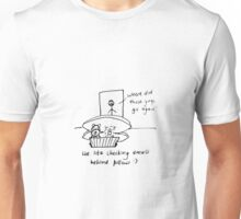 Checking email Unisex T-Shirt