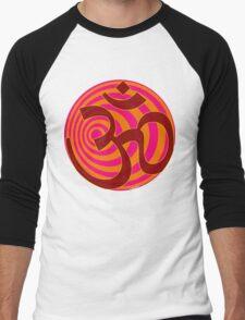 Om Symbol T-Shirt Men's Baseball ¾ T-Shirt