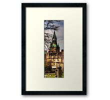 Fairytale Tower - Vertical Panorama Framed Print
