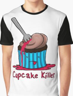 Cupcake Killer Graphic T-Shirt