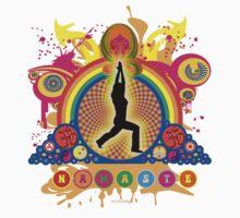 Namaste T-Shirt by mindofpeace