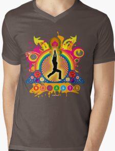 Namaste T-Shirt Mens V-Neck T-Shirt