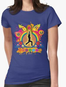 Namaste T-Shirt Womens Fitted T-Shirt