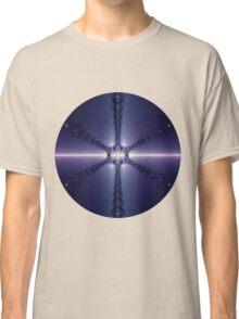 Blue Snowflake Classic T-Shirt