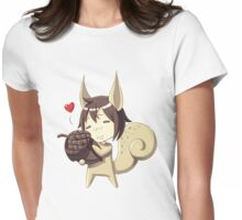 Squirrel Womens Fitted T-Shirt