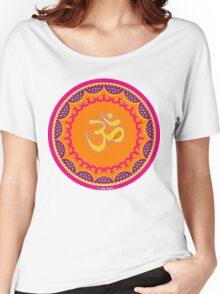 Om Symbol T-Shirt-2 Women's Relaxed Fit T-Shirt