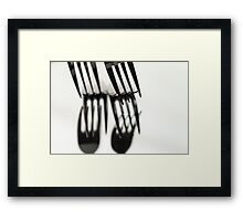 Fork It Framed Print