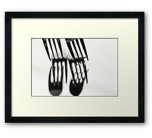 Fork It Framed Print