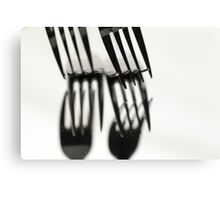 Fork It Canvas Print