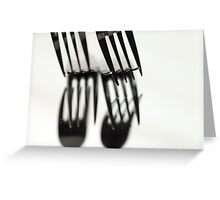Fork It Greeting Card