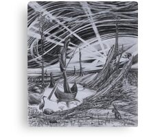 The Boatman Canvas Print