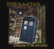 The Doctor - Somewhere in Time and Space by xnmex