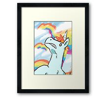 Rainbow Madness Framed Print
