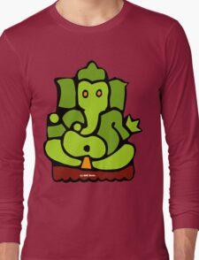 Green Ganesh T-Shirt Long Sleeve T-Shirt