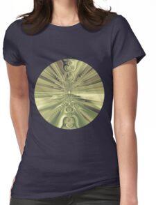 Metallic Sun Womens Fitted T-Shirt