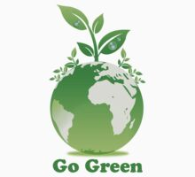 Go Green T-Shirt by mindofpeace