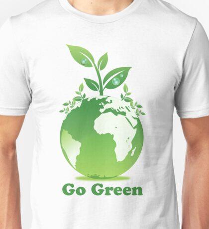 Go Green T-Shirt Unisex T-Shirt