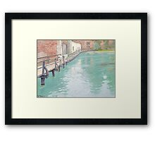 The Mills at Montreuil-sur-Mer, Normandy, 1891  Framed Print
