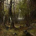 Temple Woods, 1882 by Bridgeman Art Library