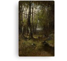 Temple Woods, 1882 Canvas Print