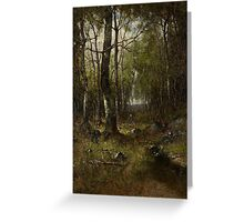 Temple Woods, 1882 Greeting Card