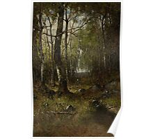 Temple Woods, 1882 Poster