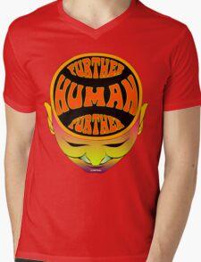 FurTher Human T-Shirt Mens V-Neck T-Shirt