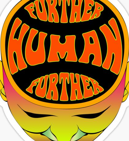 FurTher Human T-Shirt Sticker