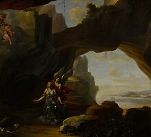 The Magdalen in a Cave, c.1650 by Bridgeman Art Library