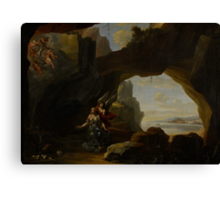 The Magdalen in a Cave, c.1650 Canvas Print