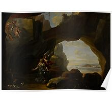 The Magdalen in a Cave, c.1650 Poster