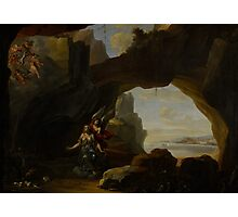 The Magdalen in a Cave, c.1650 Photographic Print