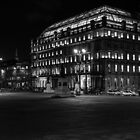 Night in the Glasgow city by Errne