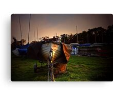 Norfolk Boat Canvas Print