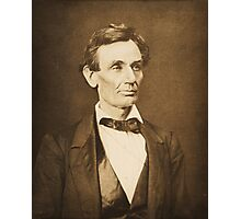 Hesler photograph of Lincoln Photographic Print