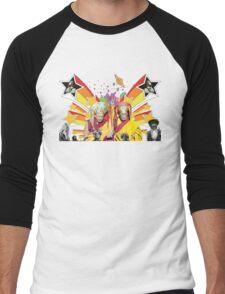 Dali Lama Spiritual Unity T-Shirt Men's Baseball ¾ T-Shirt