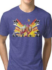 Dali Lama Spiritual Unity T-Shirt Tri-blend T-Shirt