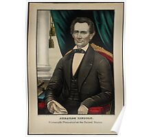 Kellogg portrait of Lincoln Poster