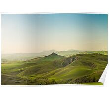 Sicily countryside Poster