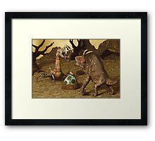 Fierce Creatures Framed Print