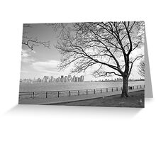 View of Manhattan Greeting Card
