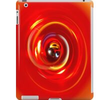 Red Light Spiral iPad Case/Skin