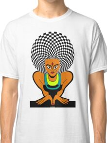 Psychedelic Desi Indian T-Shirt  Classic T-Shirt
